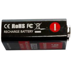 2x Tipo de bateria IMR 26650