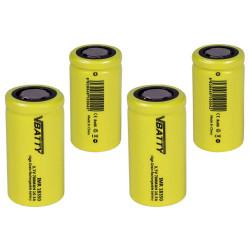 4x Tipo de bateria IMR 18350 3 7 v 700 mAh 10 5A CE